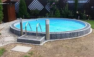 Pool Ohne Bodenplatte : pool selber bauen swimmingpool im garten ~ Articles-book.com Haus und Dekorationen