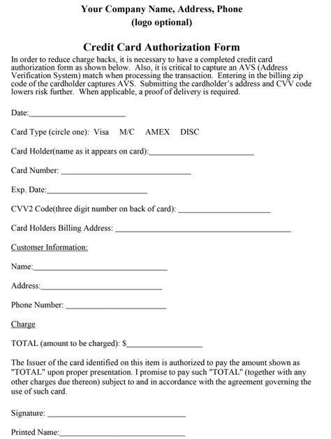 cc auth form how to properly craft a credit card authorization form