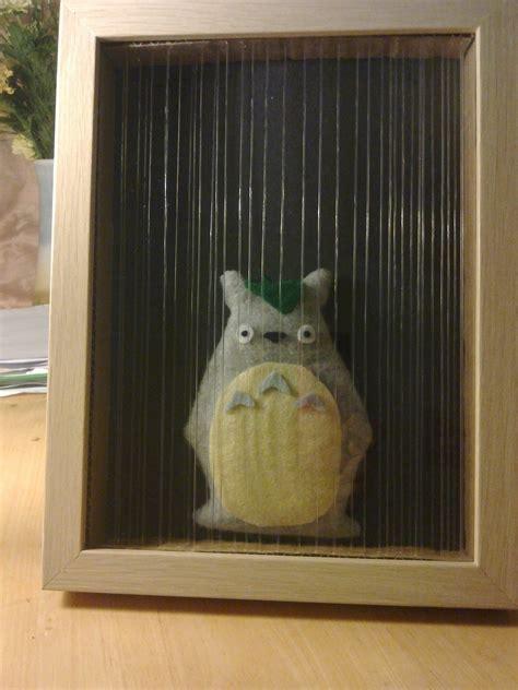 totoro   rain box frame     frame photo