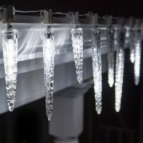 c7 falling icicle cool white led light bulbs