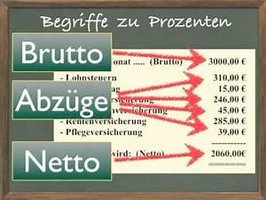 Lohn Berechnen Netto : ma053 brutto netto youtube ~ Themetempest.com Abrechnung