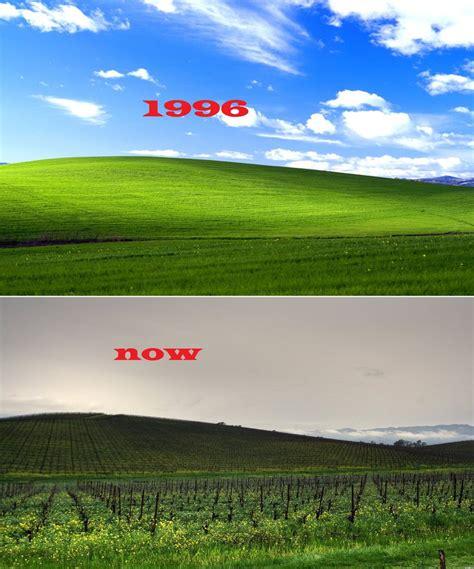 Windows Xp Bliss Then-now By I-use-windows-vista On Deviantart