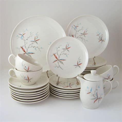 vintage dinnerware set finesse carefree true china