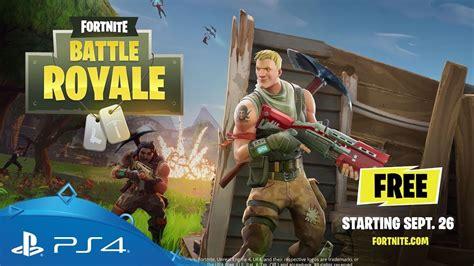 fortnite battle royale gameplay trailer ps youtube