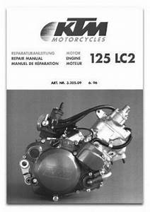 1997 Ktm 125 Lc2 Sting Motorcycle Engine Repair Manual