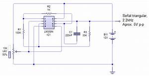 4 Diagrama Del Segmento De Circuito Generador De Onda