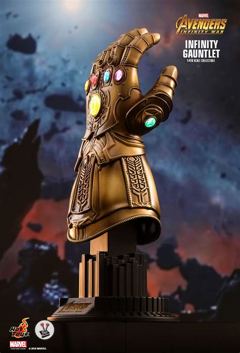 hot toys infinity gauntlet  scale collectible acs