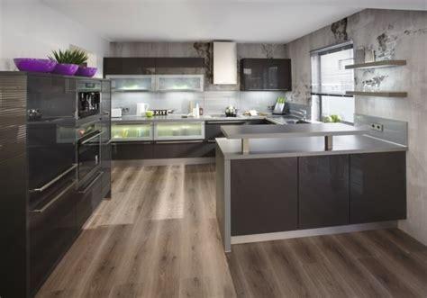 exemple plan de cuisine cuisine gris anthracite 56 idées pour une cuisine chic