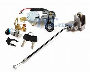 Ignition Key Lock System 49cc 50cc Scooter Jonway Tank