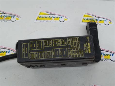 Nissan X Trail Fuse Box Diagram by Used Nissan X Trail Fuse Box Binckhorst Bv Proxyparts