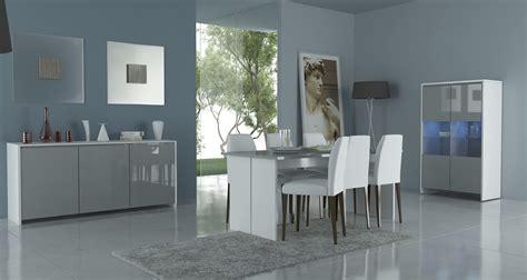 salle a manger cuisine cuisine duo de couleurs tendance le gris et le jaune dans