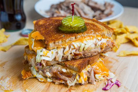 bbq pulled pork grilled cheese closet cooking
