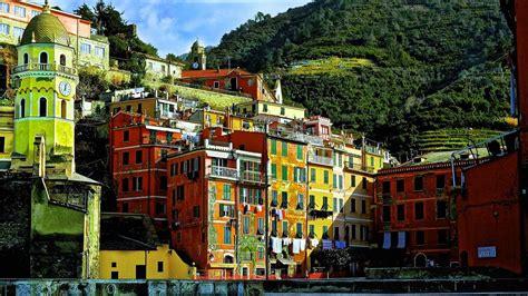 bureau paysage vernazza italie fond d 39 écran gratuit milieux hd vernazza
