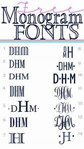 Free printable fonts homedesignpictures for Free monogram fonts