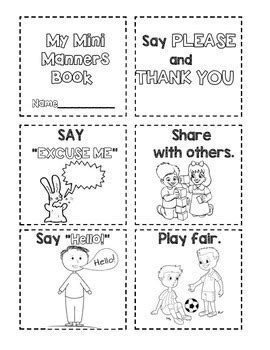 manners manners book by buckeye school counselor tpt