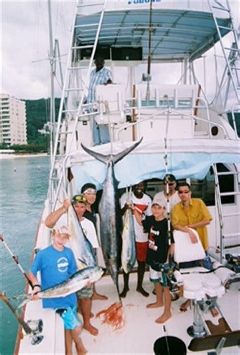 Big Jamaica Boat by Sea Fishing Ocho Rios Montego Bay Negril Big
