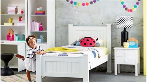Kids Bed Design Kid Beds For Girl Ladybug White Frame