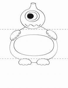 free kids craft template make your own monsters print With moster templates