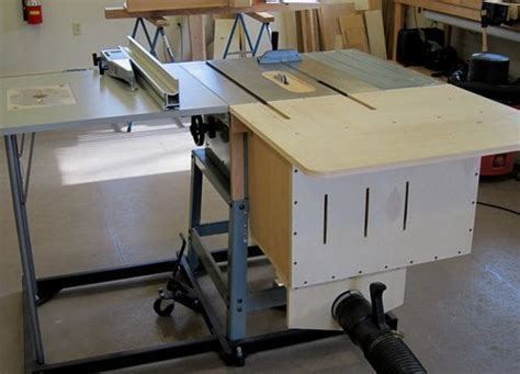 Cabinet Table Saw Used by Another Contractor Saw Dust Collection Quandry By