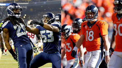 denver broncos  seattle seahawks   teams stack