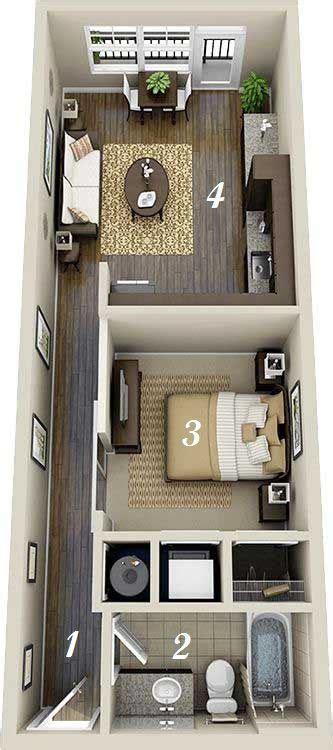 inspiring studio apartment design plans