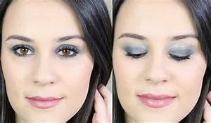 Maquillage De Fête : id e de maquillage de fete smoky argent paillet ~ Melissatoandfro.com Idées de Décoration