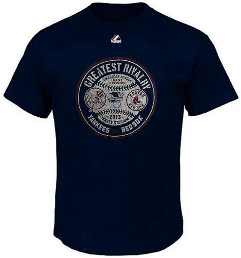 Vf New York Yankees Vs Boston Sox Greatest Rivalry S Shirt ...