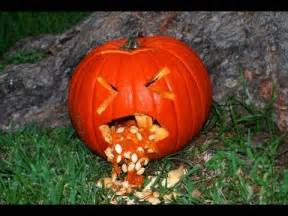 Pumpkin Guacamole Throw Up by Pumpkin Idea 3 Throwing Up Pumpkin Youtube