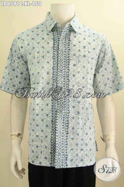 baju batik cowok terbaru hem batik 2016 untuk pria dewasa dengan desain keren motif unik proses