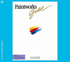 What Is The Apple Iigs   U0026gt  Creative Visual  U0026gt  Paintworks Gold