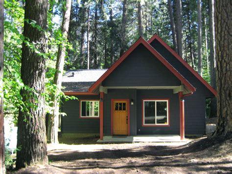 mountain cabin exterior color design twain harte ca