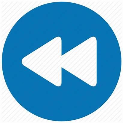 Rewind Track Icon Fast Before Button Previous