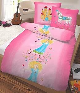 Flanell Bettwäsche 220x240 : sch ne bettw sche aus flanell prinzessin rosa 135x200 von dobnig bettw sche ~ Frokenaadalensverden.com Haus und Dekorationen