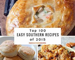 Top 100 Easy Southern RecipesYour Favorite Southern