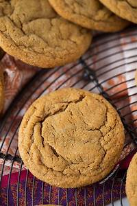 Soft and Chewy Ginger Molasses Cookies - Table for Two® by ...