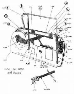 El Camino Door Parts 1959-1960