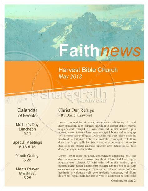 pentecostal church newsletters template newsletter templates