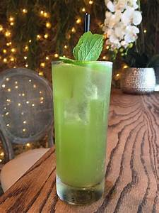 11 Green Cocktails To Sip Right Now In Houston