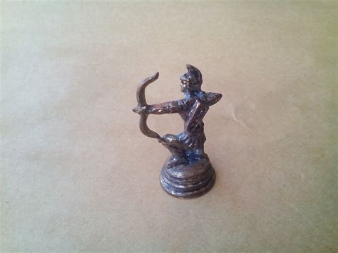 Miniature Ancient Greek Warrior Neoclassical Statue
