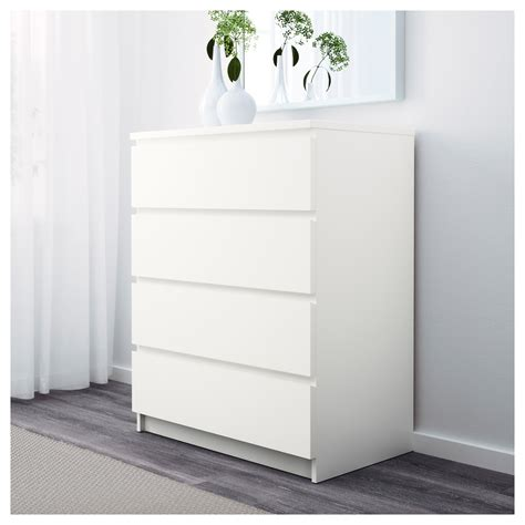 ikea pink and white dresser malm chest of 4 drawers white 80x100 cm ikea