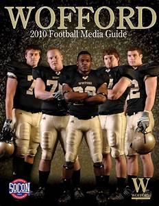 2010 Wofford Football Media Guide by Wofford Athletics - issuu