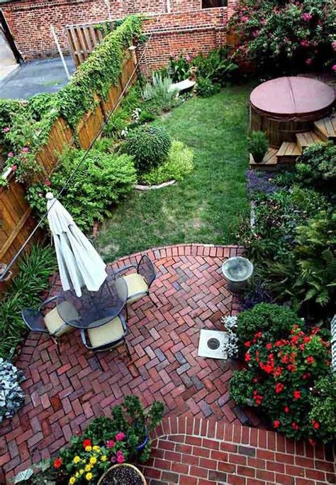 Landscape Design For Small Backyard by Small Backyard Garden Decoration