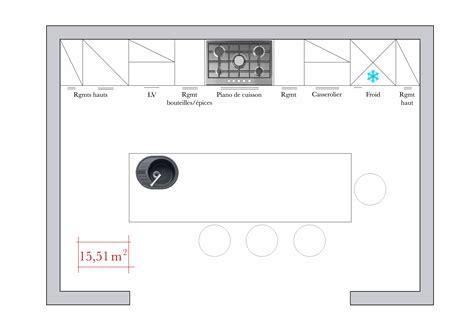 plan de travail cuisine 4m conseils d 39 architecte 4 plans de cuisine en îlot