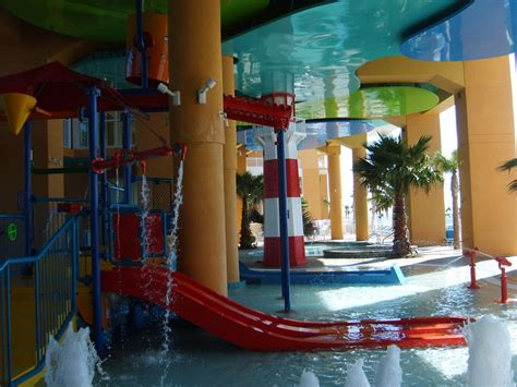 oceanfrontplus huge indoor waterpark  beach
