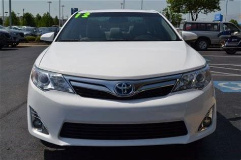airbag deployment 2012 toyota camry hybrid interior lighting buy used 2012 toyota camry hybrid xle in 2600 se moberly lane bentonville arkansas united