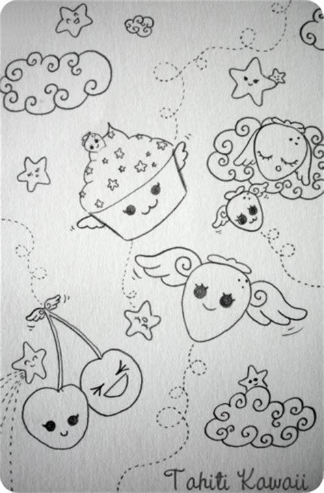 je dessine ma cuisine dessine moi une fraise volante tahiti kawaii
