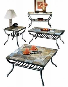 ashley furniture antigo 4pc coffee table set the classy home With antigo coffee table