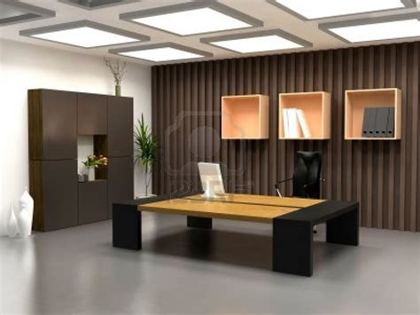 modern bureau the modern office interior design 3d render office