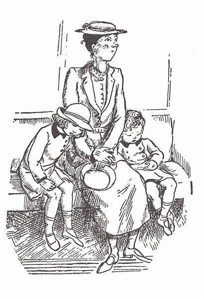 Poppins Mary Shepard Illustrations Illustration Michael Books
