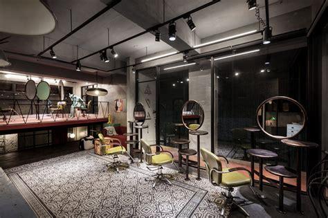 gallery of renovation of split level hair salon
